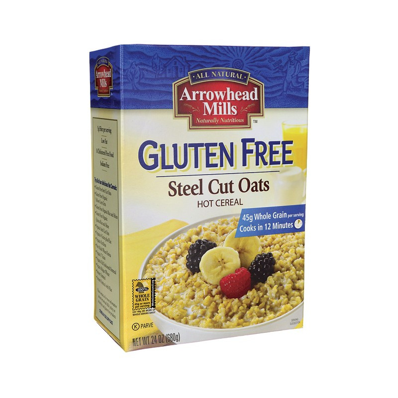 Organic Gluten Free Steel Cut Oats  Gluten Free Steel Cut Oats 24 oz Box