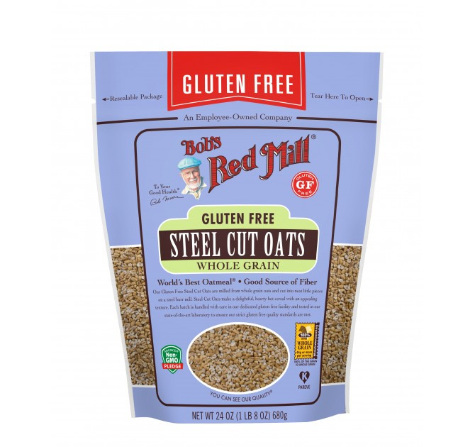 Organic Gluten Free Steel Cut Oats  Gluten Free Steel Cut Oats Bob s Red Mill Natural Foods