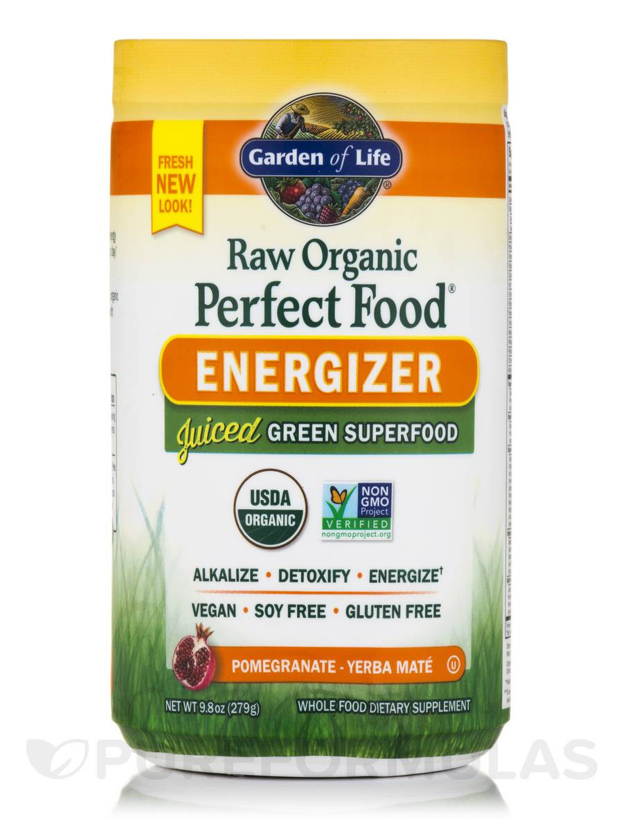 Organic Greens Powder  RAW Organic Perfect Food Energizer Juiced Green Superfood