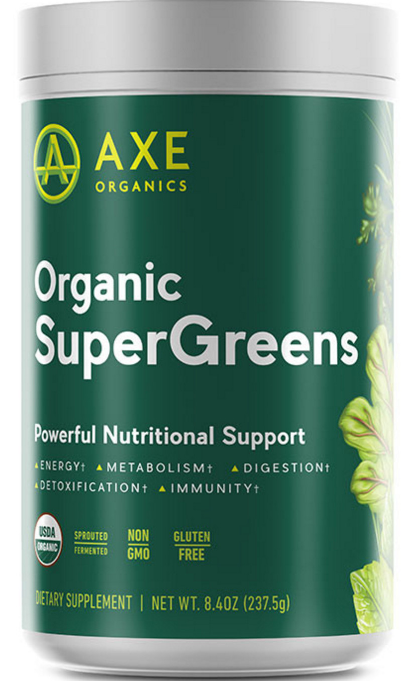 Organic Greens Powder  Dr Axe Organic Supergreens Review