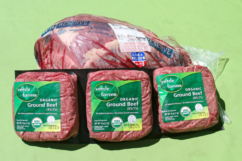 Organic Ground Beef  Paleo at Costco