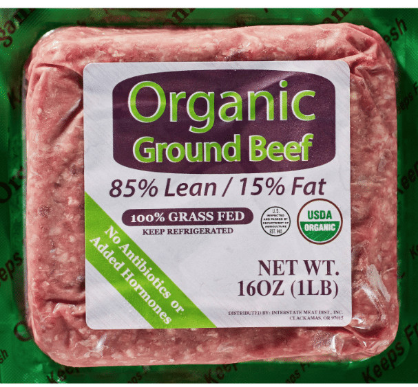Organic Ground Beef  Grass fed Organic Ground Beef at Walmart at a Great