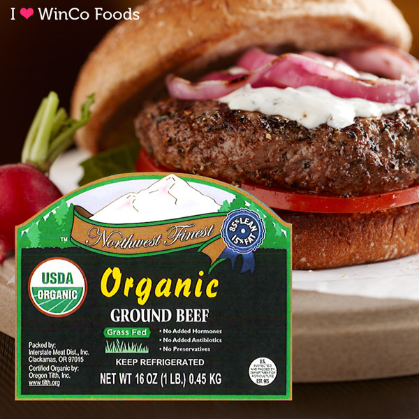 Organic Ground Beef  USDA Organic Ground Beef