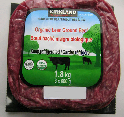 Organic Ground Beef  Costco Organic Lean Ground Beef Recalled Due to E coli