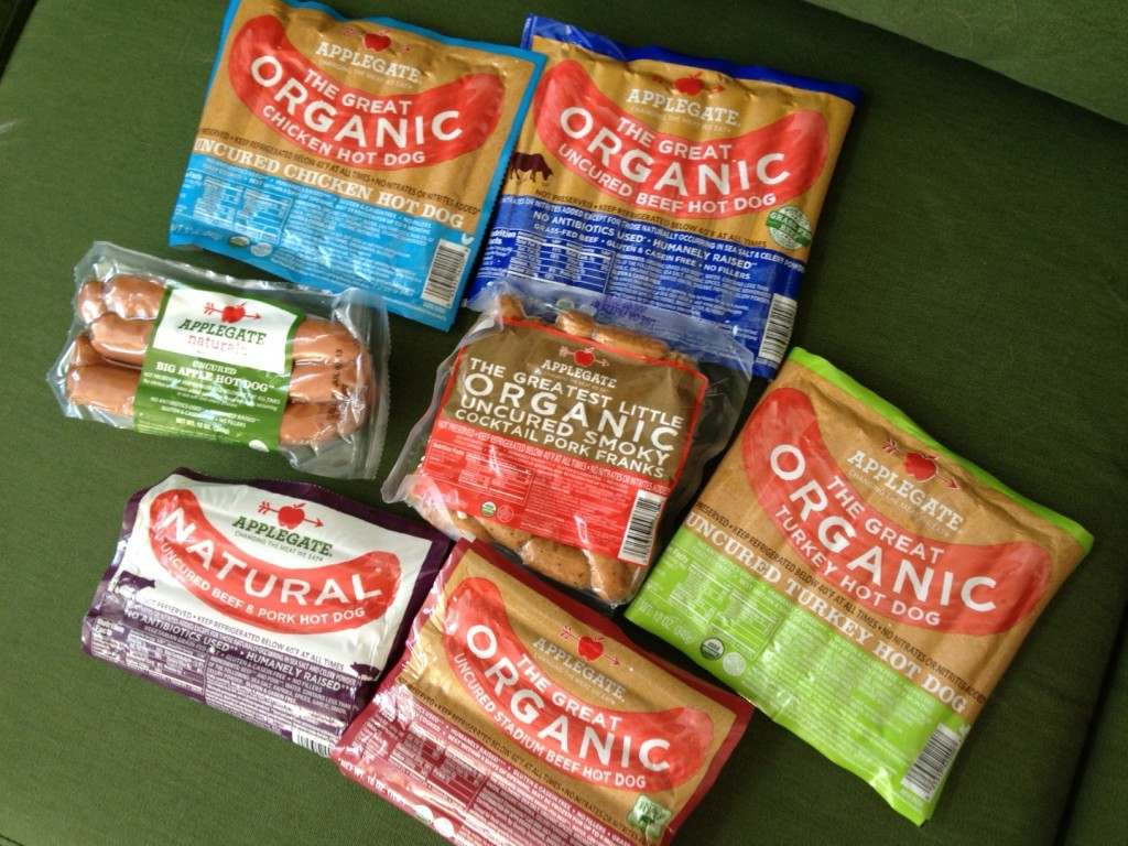 Organic Hot Dogs  Applegate – hot dogs done right