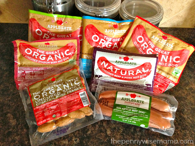 Organic Hot Dogs  Applegate Organic Prize Pack Giveaway summernights The