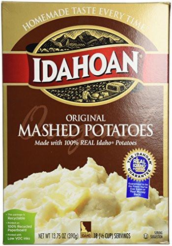 Organic Instant Mashed Potatoes  Idahoan Idahoan Potato Flakes 13 75 oz price