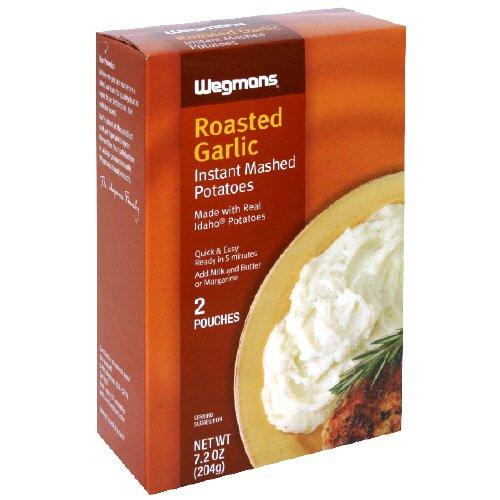 Organic Instant Mashed Potatoes  Garlic milk for sciatica pain By Nasim