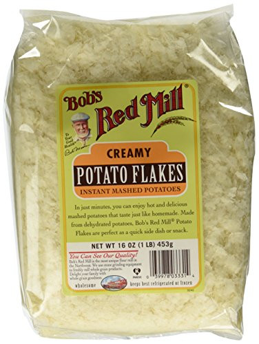 Organic Instant Mashed Potatoes  pare price to potato flakes organic