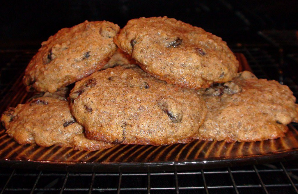Organic Oatmeal Cookies  Steel Cut Oatmeal Cookie Recipe using Coconut Oil