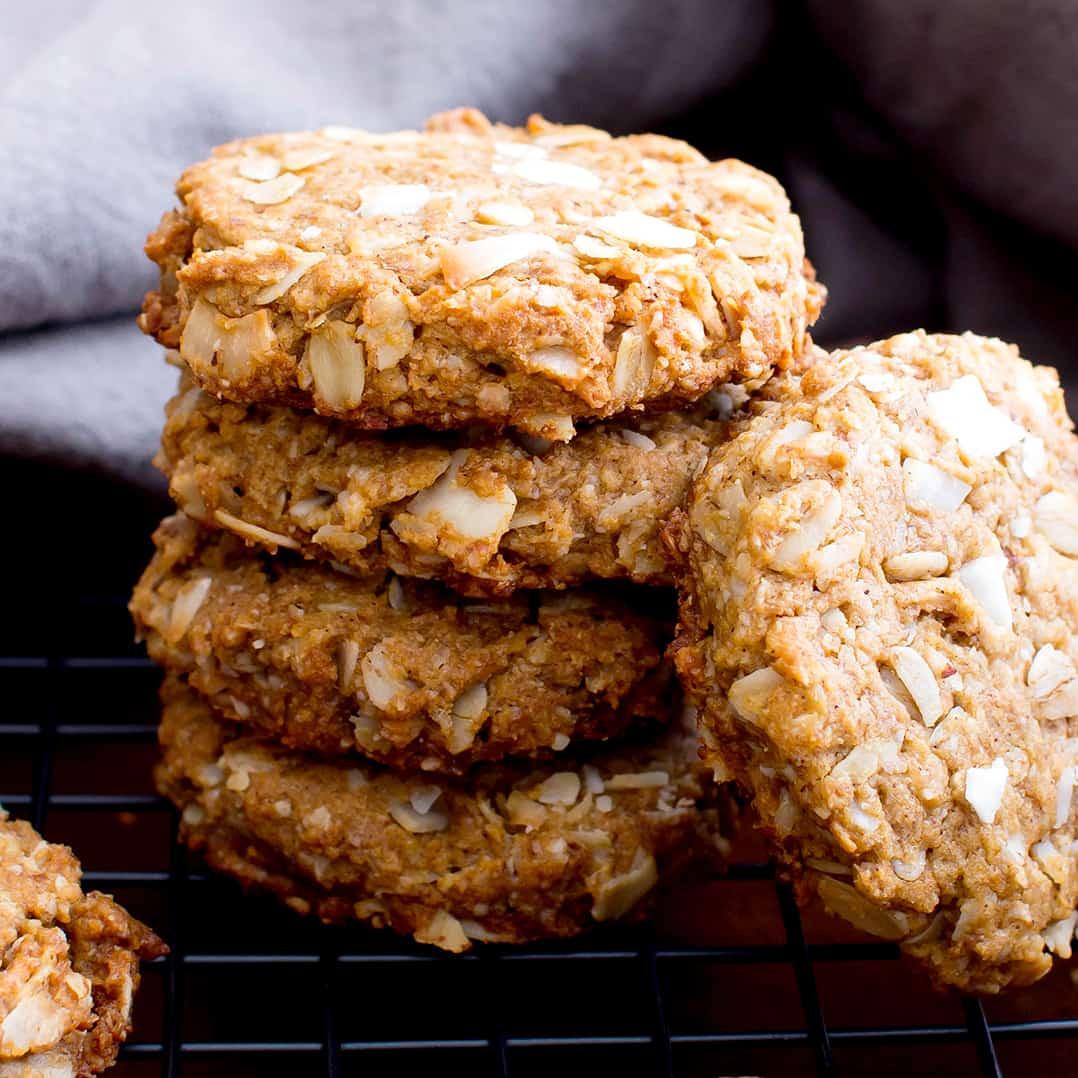 Organic Oatmeal Cookies  Peanut Butter Coconut Oatmeal Cookies Vegan Gluten Free