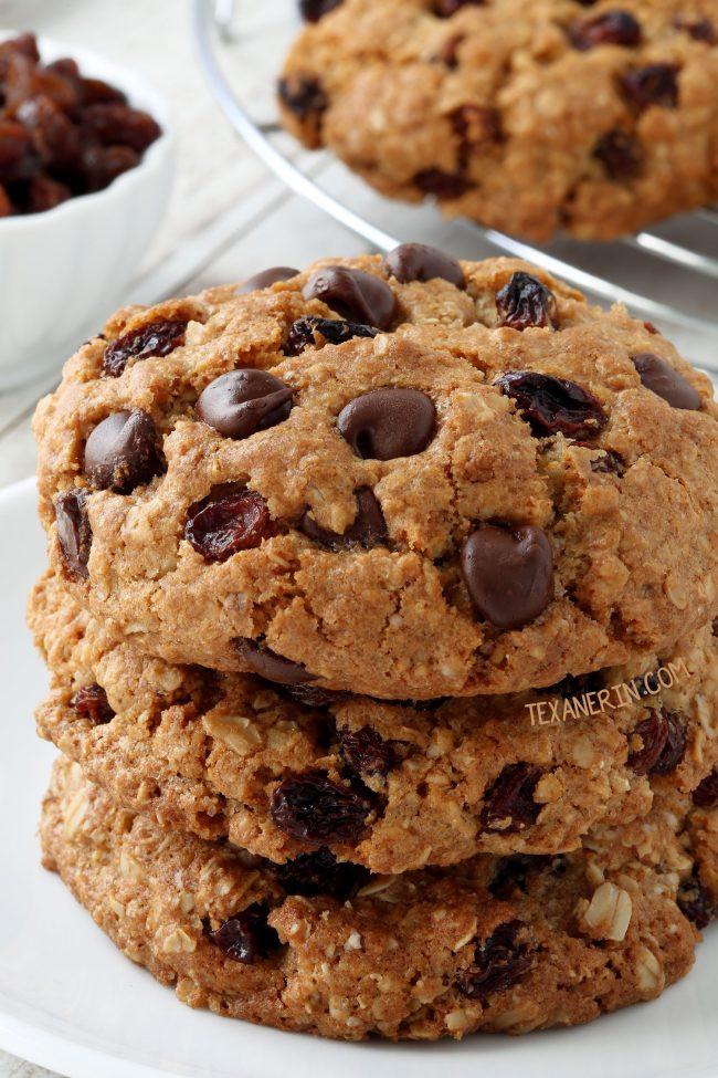 Organic Oatmeal Cookies  Gluten free Oatmeal Cookies dairy free Texanerin Baking