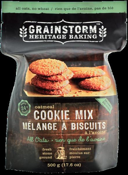 Organic Oatmeal Cookies  Organic Oatmeal Cookie Mix
