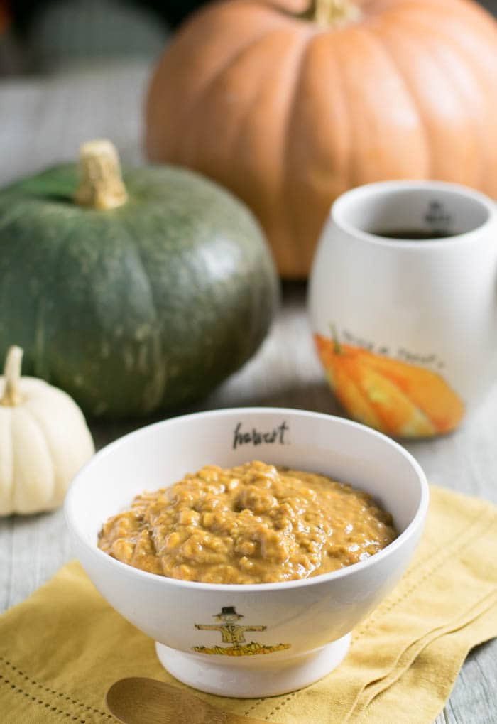 Organic Oats And Soybeans  Overnight Pumpkin Ginger Oats with Nancy's Organic