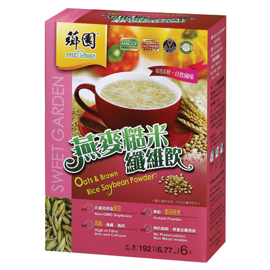 Organic Oats And Soybeans  Oats & Brown Rice Soybean Powder Box Pack