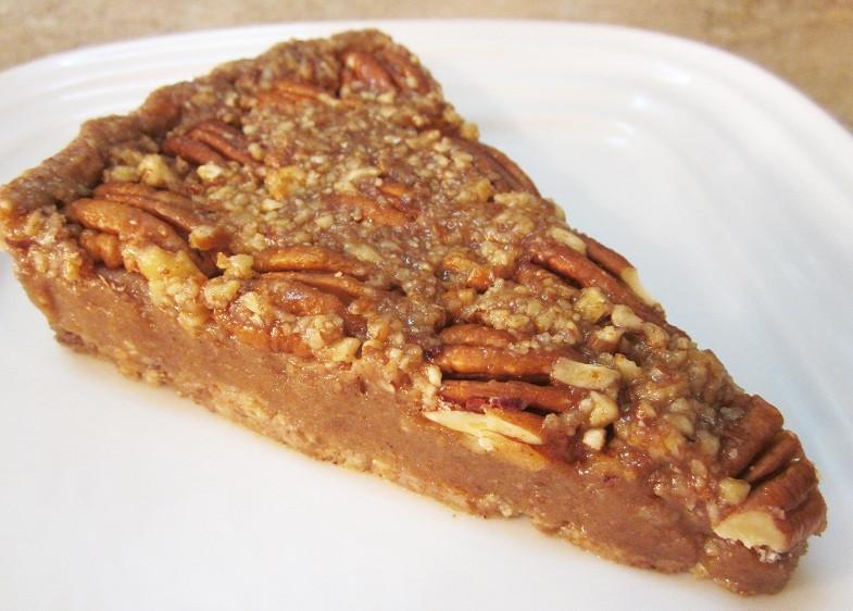 Organic Pecan Pie  Raw Pecan Pie RecipeRobins Key
