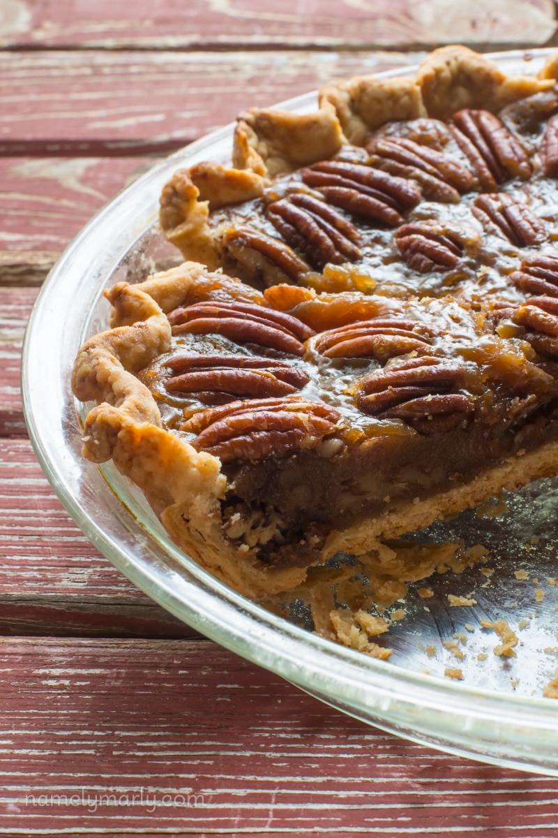 Organic Pecan Pie  Vegan Pecan Pie