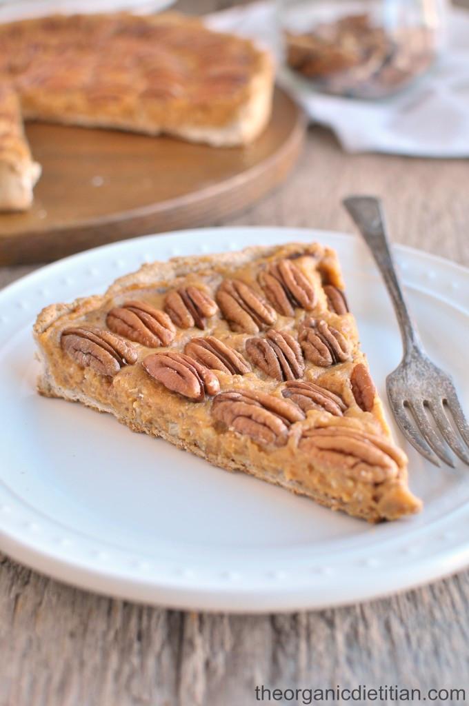 Organic Pecan Pie  Pecan Pie Corn Syrup Free The Organic Dietitian