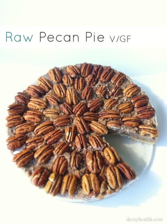 Organic Pecan Pie  Raw Pecan Pie Vegan & GF