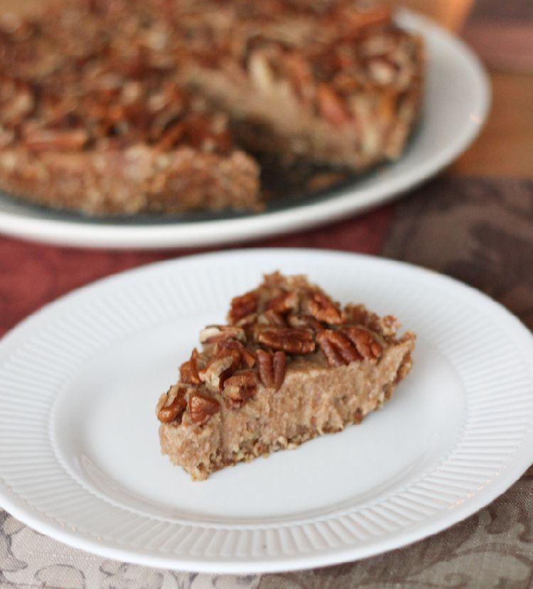Organic Pecan Pie  Raw Vegan Pecan Pie Live Simply Natural