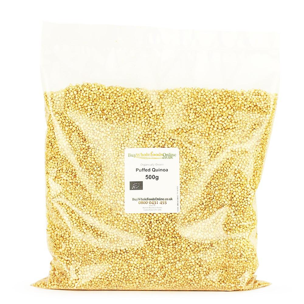 Organic Puffed Quinoa  Organic Puffed Quinoa 500g Buy Whole Foods line Ltd