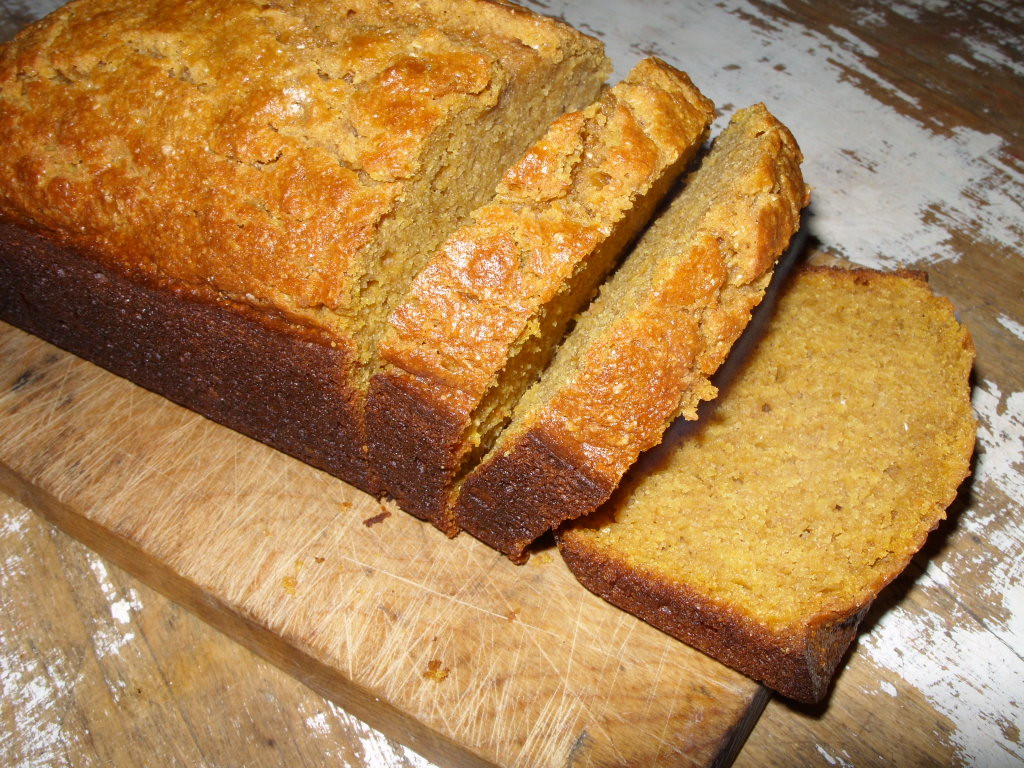 Organic Pumpkin Bread  Whole Wheat Pumpkin Bread