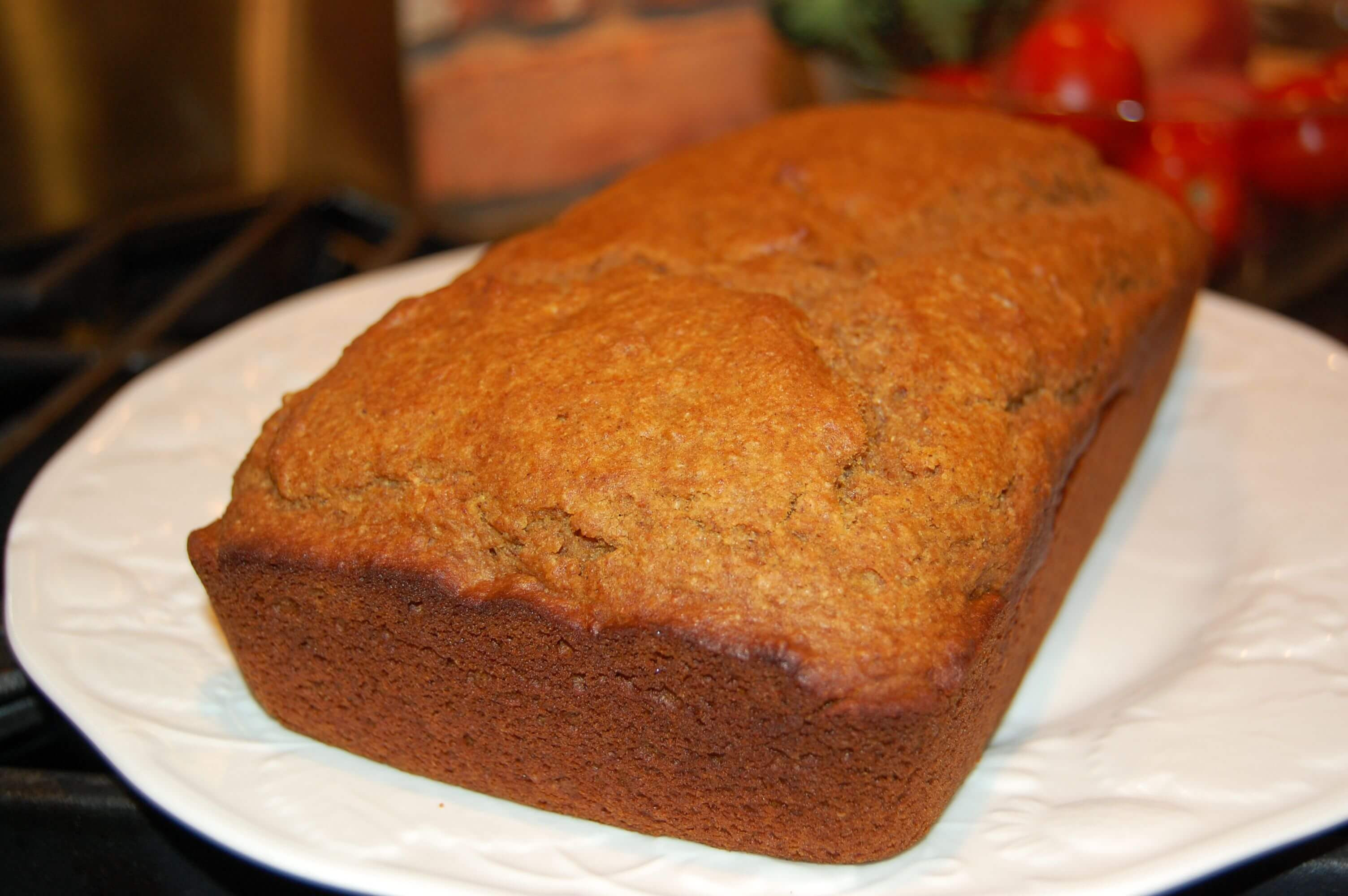 Organic Pumpkin Bread  Whole Wheat Healthy Pumpkin Bread 100 Days of Real Food