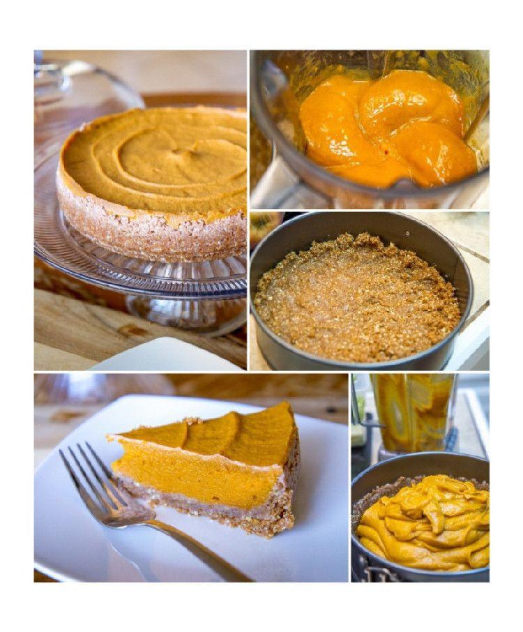 Organic Pumpkin Pie  Raw Vegan Pumpkin Pie Live Simply Natural