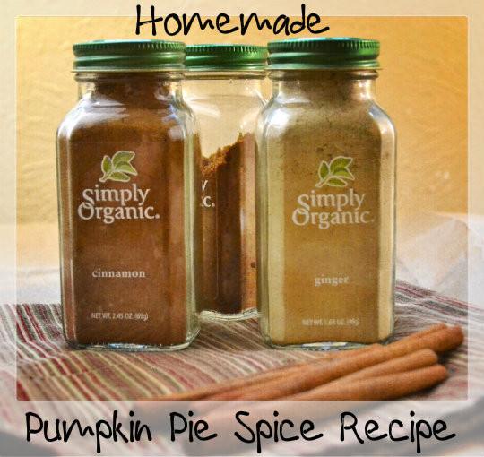 Organic Pumpkin Pie Spice  Homemade Pumpkin Pie Spice Recipe Natural Green Mom