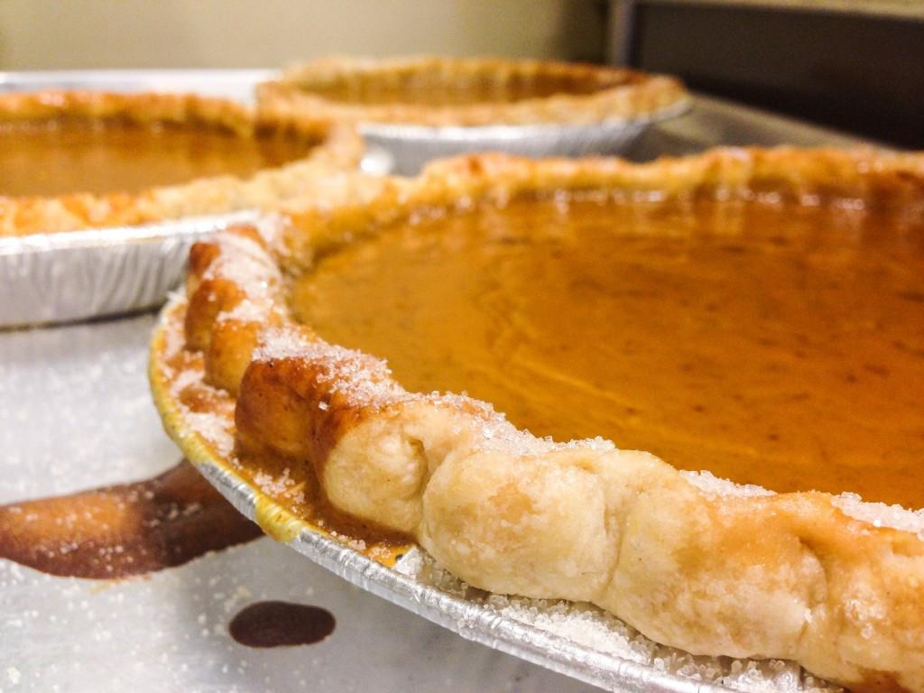 Organic Pumpkin Pie  DRUMS & CRUMBS Thanksgiving Pie Sale Success