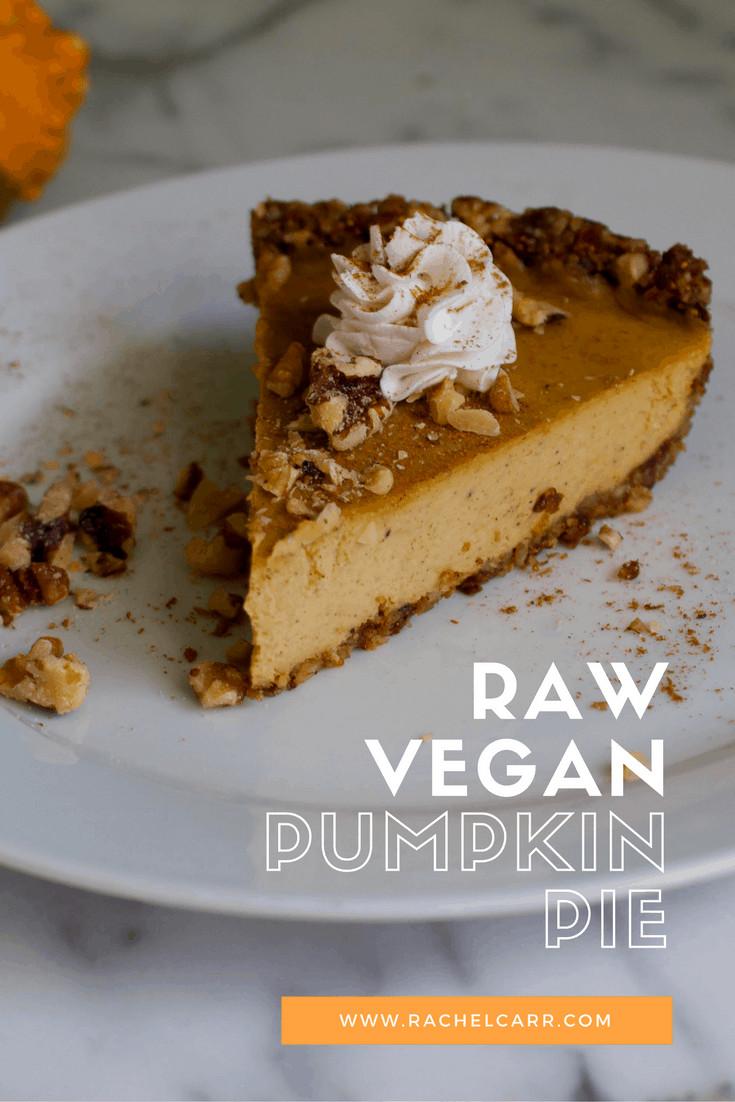 Organic Pumpkin Pie  Raw Vegan Pumpkin Pie Plant Craft