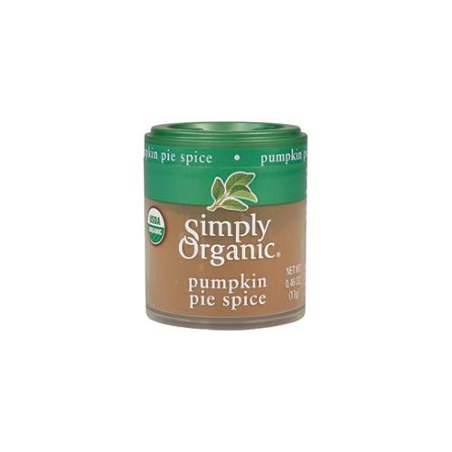 Organic Pumpkin Pie  Simply Organic Pumpkin Pie Spice Organic 0 46 Oz