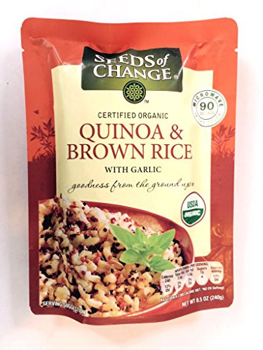 Organic Quinoa And Brown Rice  Seeds of Change Certified Organic Quinoa & Brown Rice