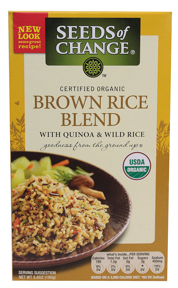 Organic Quinoa And Brown Rice  Farm Fresh Deals Free Seeds of Change Organic Rice The