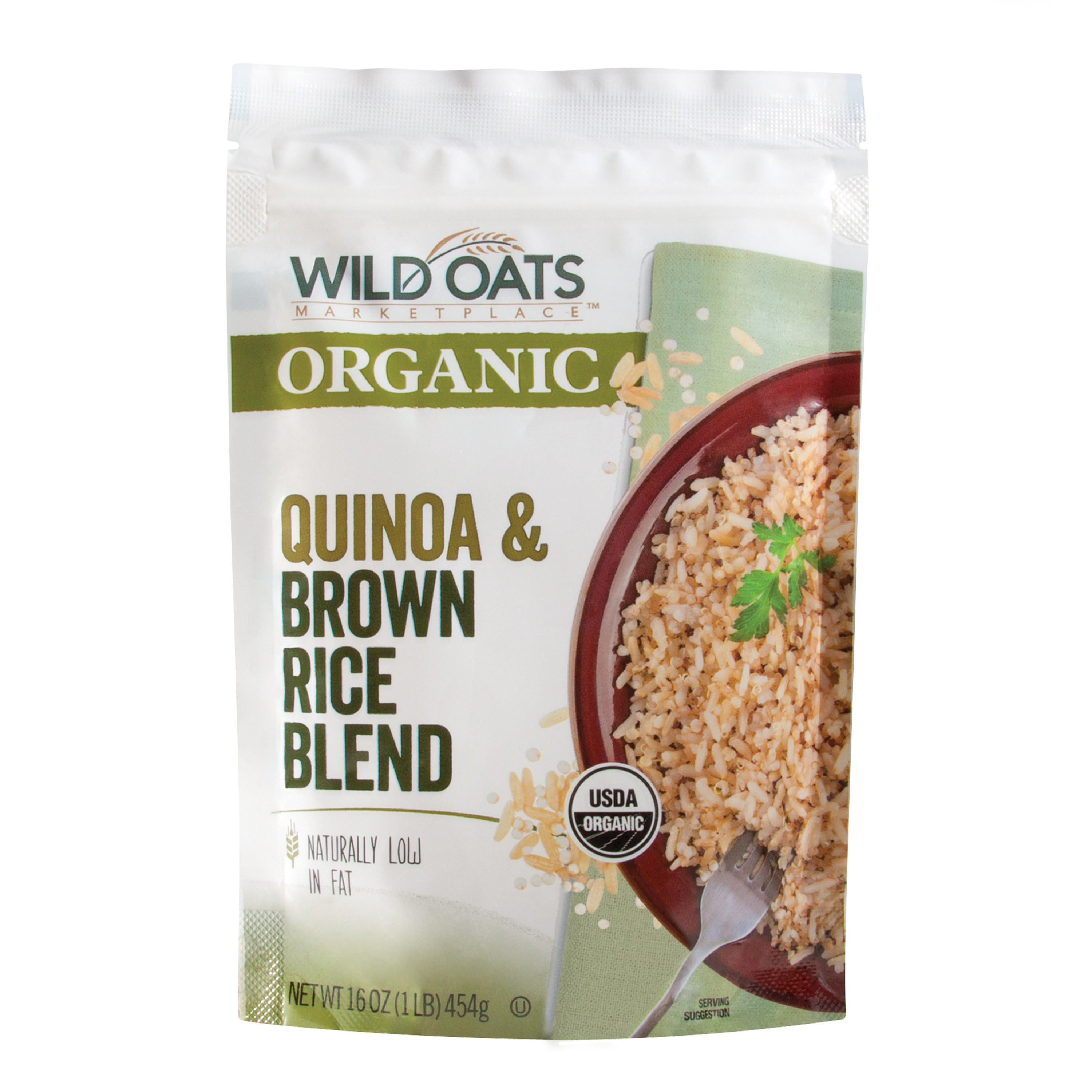 Organic Quinoa And Brown Rice  Wild Oats Marketplace Organic Quinoa & Brown Rice Blend