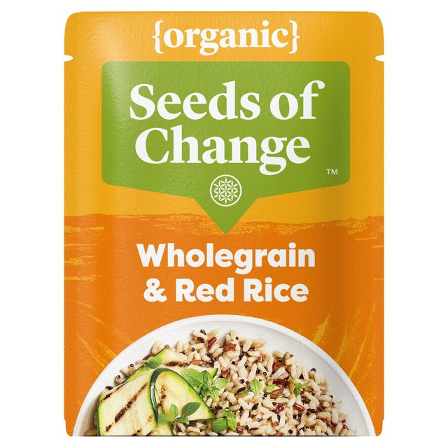 Organic Quinoa And Brown Rice  Seeds Change Organic Flax Quinoa & Red Rice 240g from Ocado