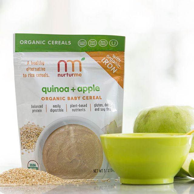 Organic Quinoa Baby Cereal  Quinoa Cereals quinoa sweet potato raisin NurturMe