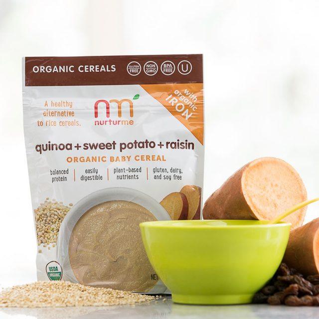 Organic Quinoa Baby Cereal  Quinoa Cereals protein packed quinoa NurturMe