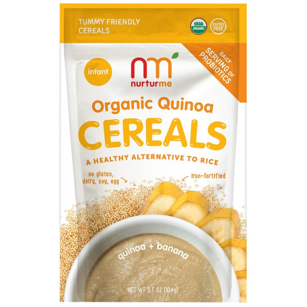 Organic Quinoa Baby Cereal  NurturMe Organic Baby Cereal Protein packed Quinoa