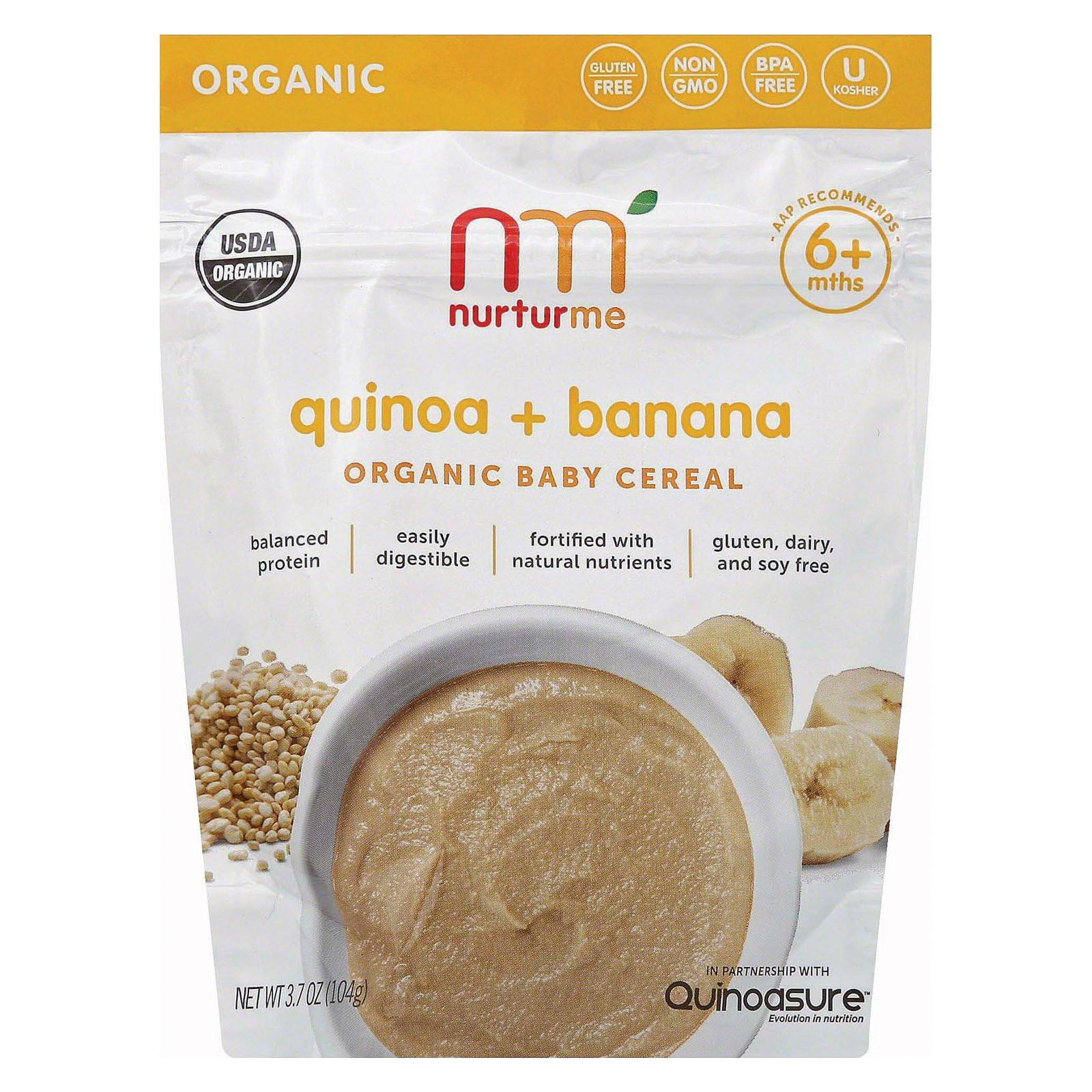 Organic Quinoa Baby Cereal  Nurturme Organic Cereal Quinoa And Banana Case 6