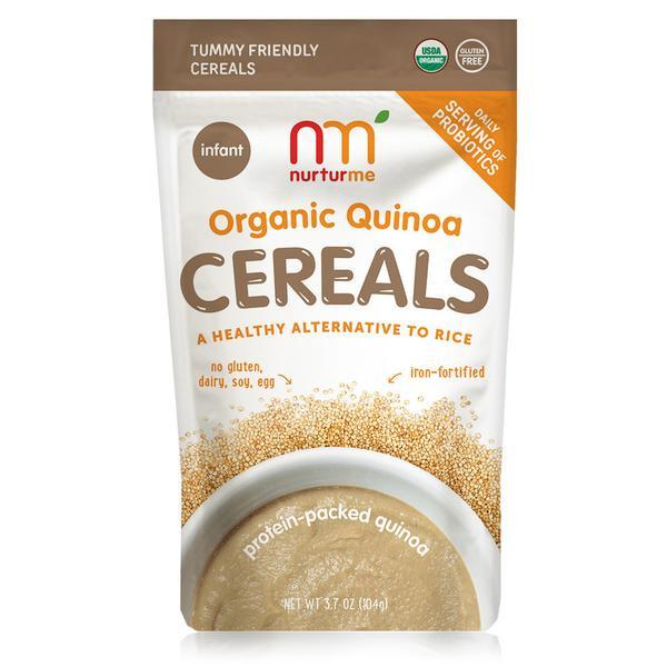 Organic Quinoa Baby Cereal  Quinoa Cereals protein packed quinoa – NurturMe