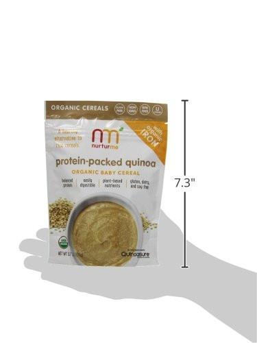 Organic Quinoa Baby Cereal  ★Lowest Price★NurturMe Protein Packed Quinoa Organic