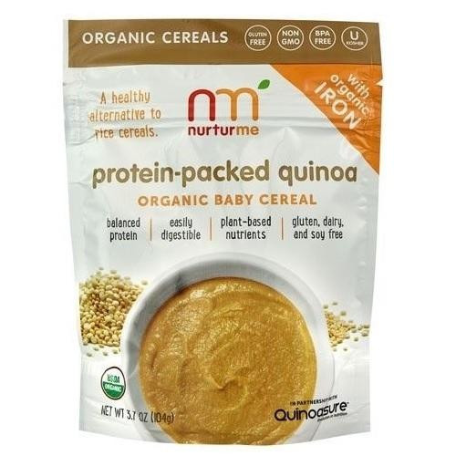 Organic Quinoa Baby Cereal  Nurturme Organic Baby Cereal Protein Packed Quinoa 6X3 7