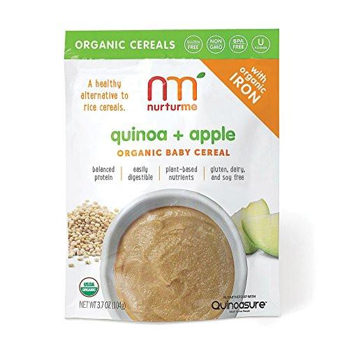 Organic Quinoa Baby Cereal  AUTHENTIC NurturMe Protein Packed Quinoa Organic Infant
