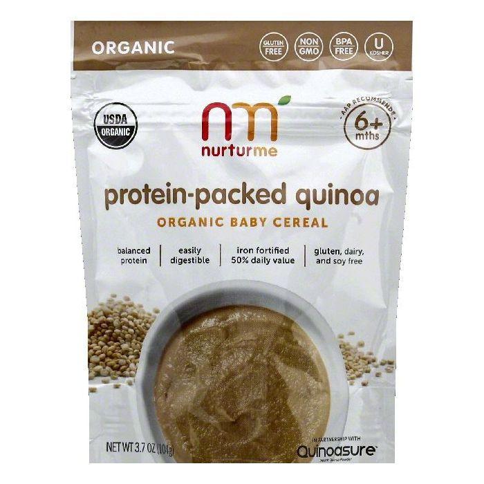Organic Quinoa Baby Cereal  Nurturme Baby Cereal Organic Protein Packed Quinoa 6
