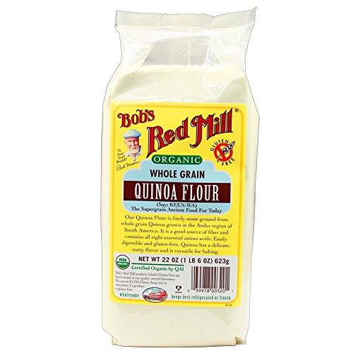 Organic Quinoa Flour  Bob s Red Mill Organic Quinoa Flour 22 ounce Pack of 4