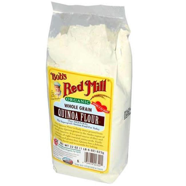 Organic Quinoa Flour  Bob s Red Mill Whole Grain Quinoa Flour 1x25lb