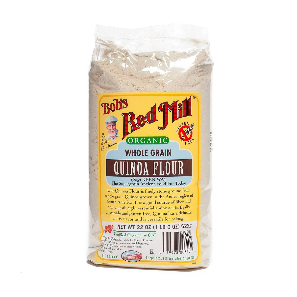 Organic Quinoa Flour  Organic Quinoa Flour by Bob s Red Mill Thrive Market