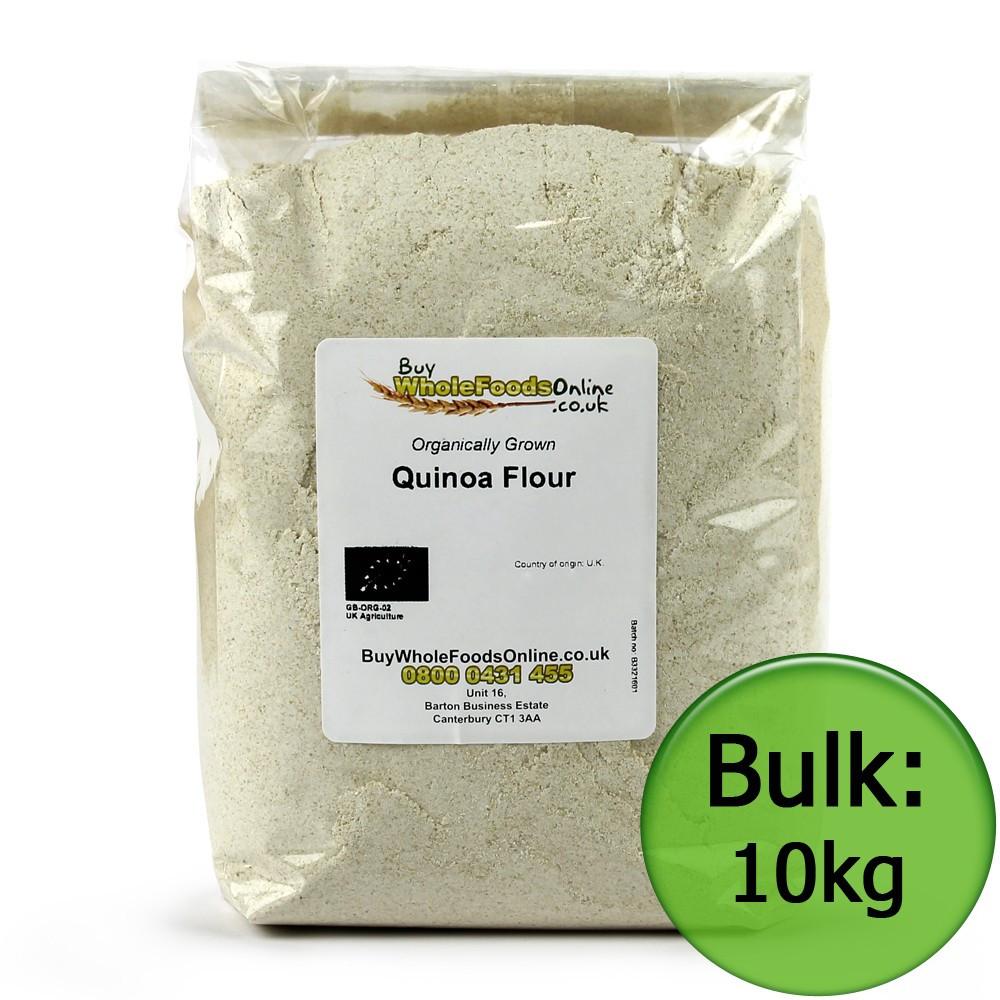 Organic Quinoa Flour  Buy Organic Quinoa Flour UK 500g 25kg