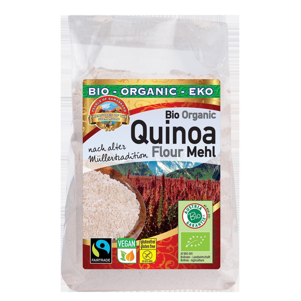 Organic Quinoa Flour  Organic FAIRTRADE Quinoa flour gluten free – Lemberona